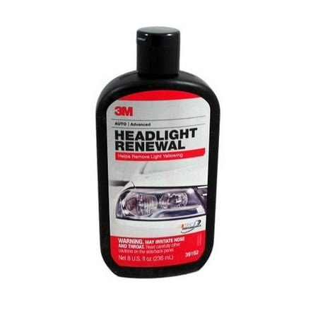 3M 39162 Auto Advanced Headlight Polish 8Oz