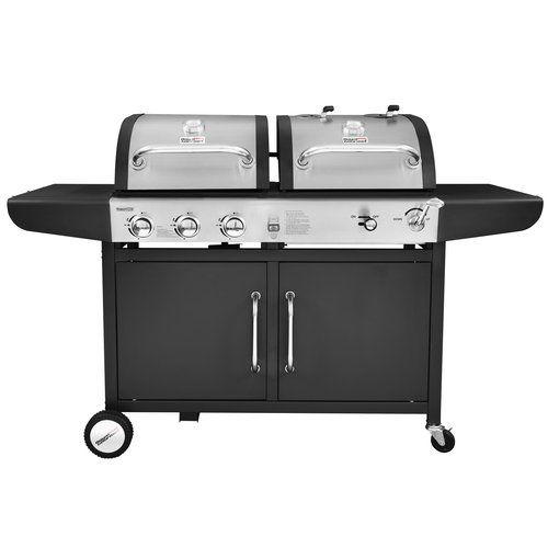 Royal Gourmet Corp Performance 3 Burner Liquid Propane Gas and Charcoal Grill