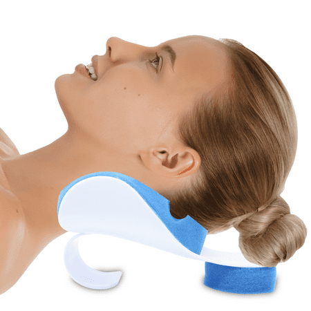 Pivit Neck Support Relaxer   Shoulder Chiropractic Pillow   Cervical Spine Relieve, Neckbone Muscle Tension Reliever   Pressure Relief, Stiff Chronic Pain, Disc