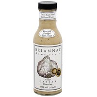 Brianna's Homestyle Asiago Caesar Dressing, 12 oz (Pack of 6)