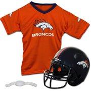 Denver Broncos Franklin Sports Youth Helmet and Jersey Set
