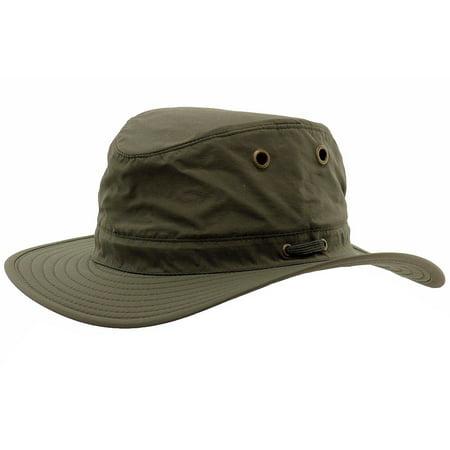 85e7b415bb18ed Henschel Men's Packable 10-Point Safari Hat - Walmart.com