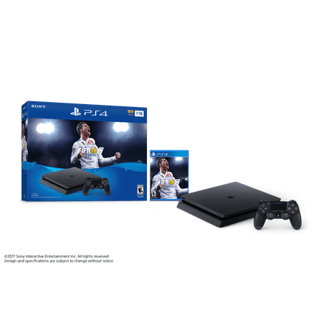 Sony PlayStation 4 Slim 1TB FIFA 18 Bundle, Black, CUH ...
