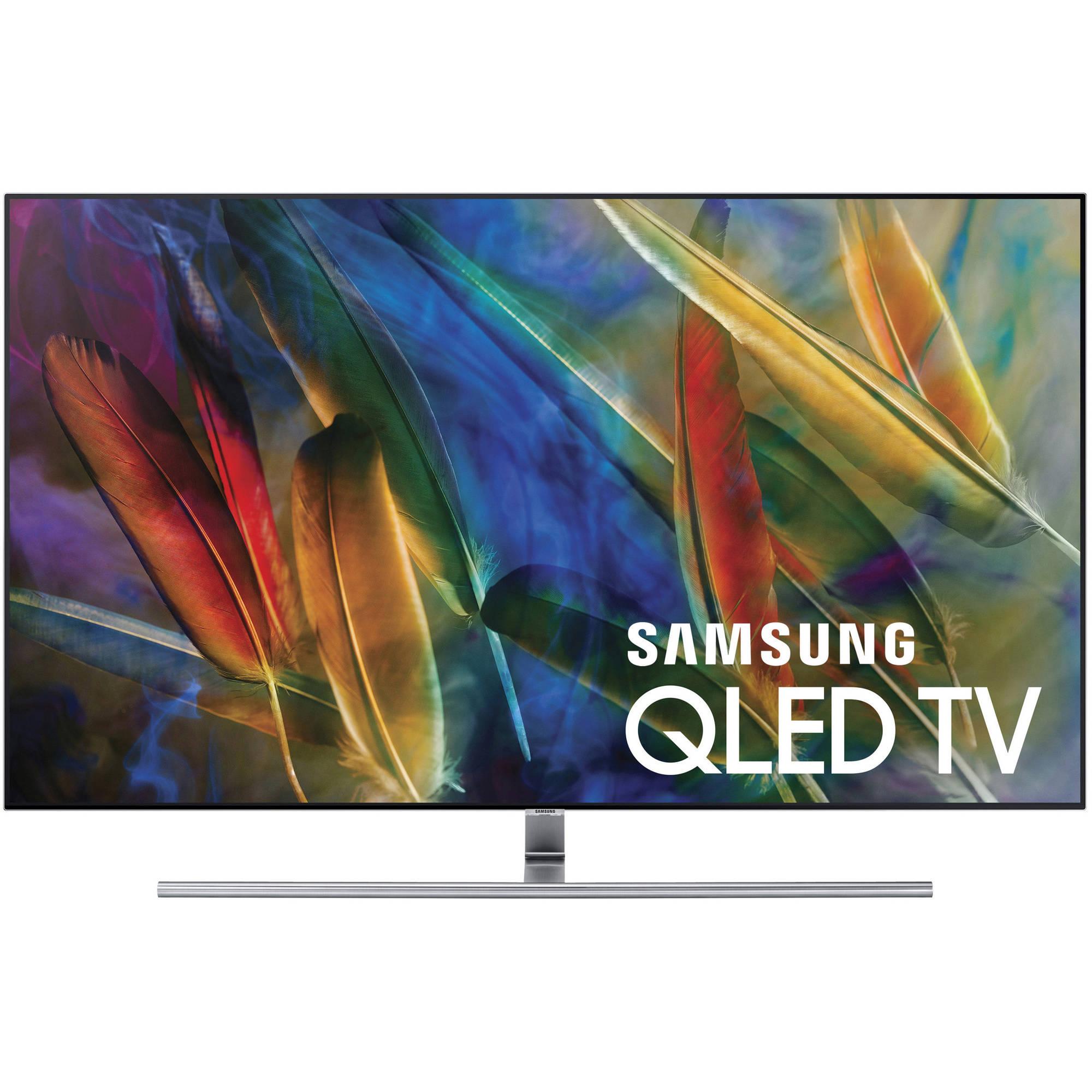 "Refurbished Samsung 55"" Class 4k (2160P) Smart QLED TV (QN55Q7FAMFXZA)"