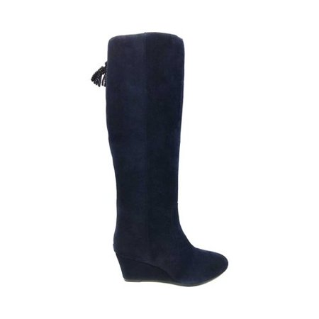 68a4999ec4cc Anne Klein - Women s Anne Klein Azriel Knee High Wege Boot - Walmart.com