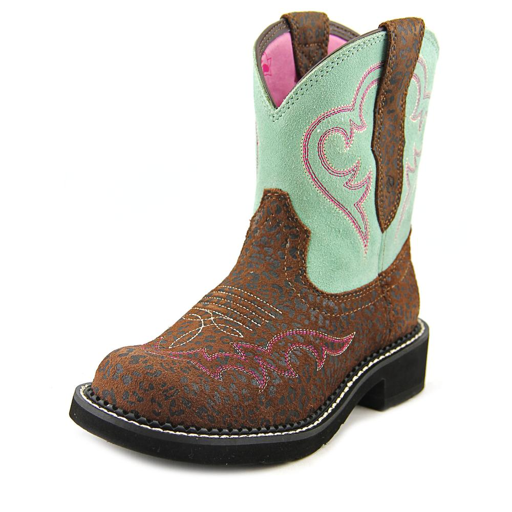 Ariat Fatbaby Heritage Harmony Round Toe Leather Western Boot by Ariat