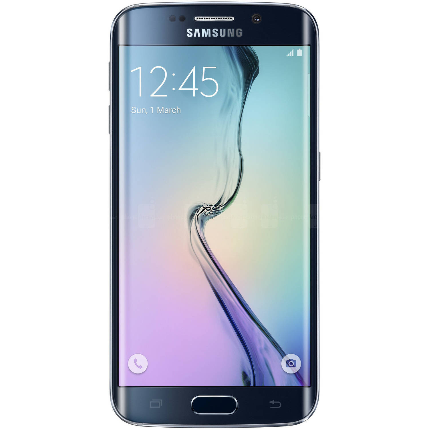 AT&T Samsung Galaxy S6 edge G925A 32GB Smartphone (Unlocked), Black