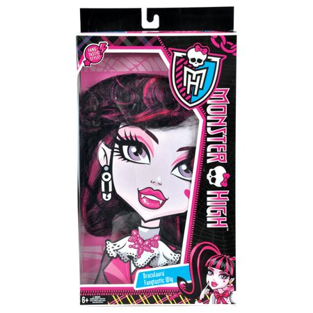 Morris Costumes XS-11111 Mh Draculaura Wig Child](Monster High Draculaura Wig)
