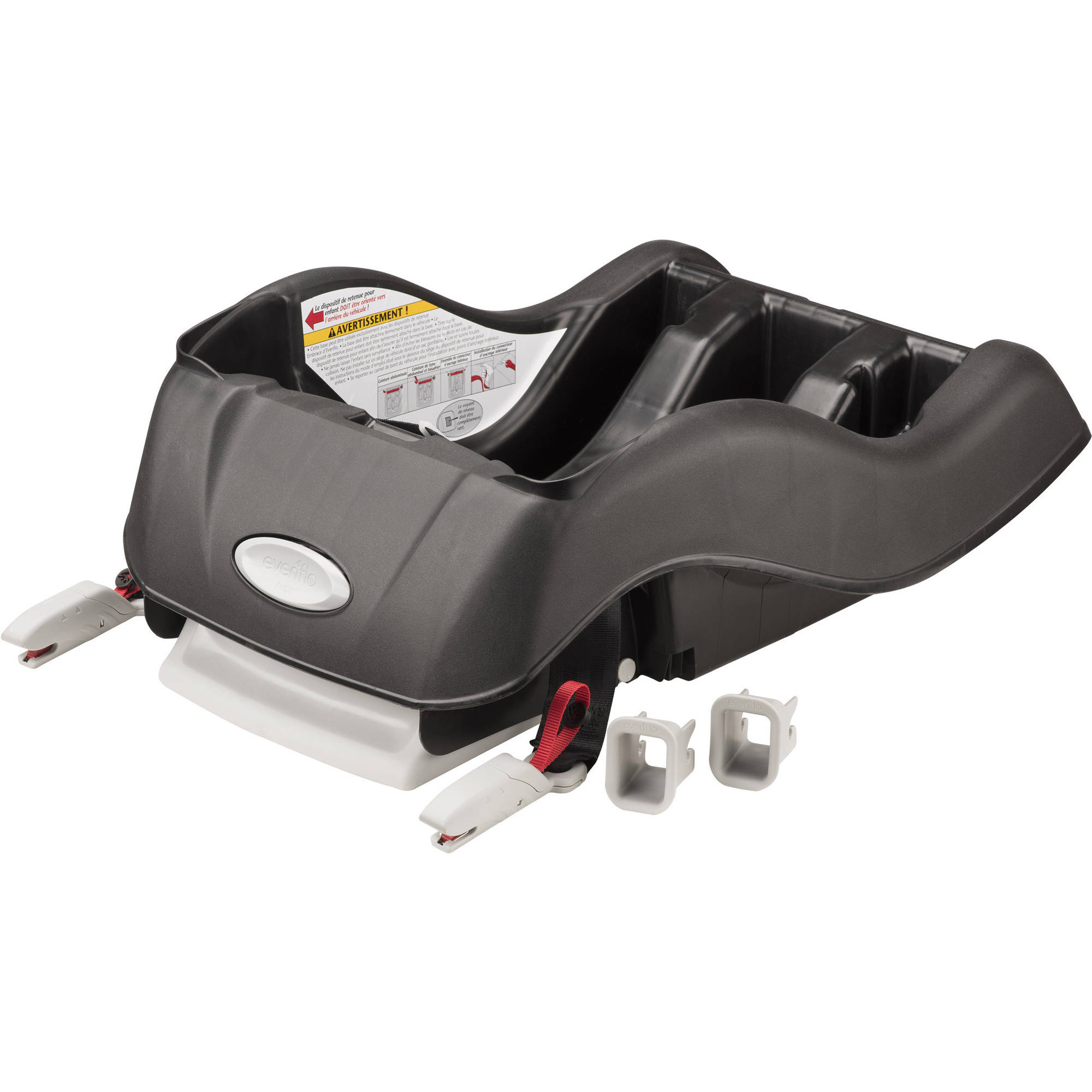 Evenflo Car Seat Base Installation