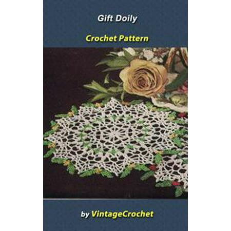 Gift Doily Vintage Crochet Pattern Ebook Walmartcom