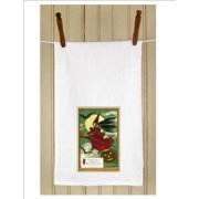 """Set of 3 """"Night of Halloween"""" Antique Witch Print Flour Sack Kitchen Hand Towels 29"""""""