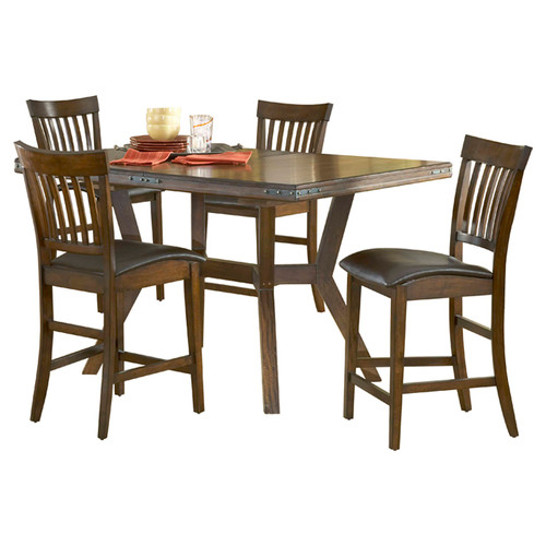 Hillsdale Furniture Arbor Hill 40'' W x 78'' L Rectangular Gathering Table by Hillsdale Furniture