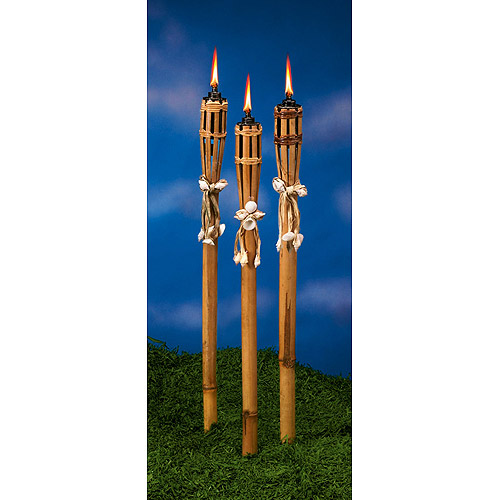Bamboo And Seashell Torches