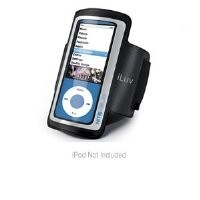 iLuv Lightweight Armband Case for iPod nano 5G (Black)