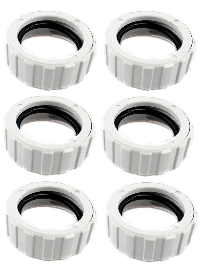 6) Polaris 9-100-3109 Original Cuffless Hose Nut for 360 Pool Cleaner 91003109 by Polaris