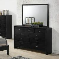 Roundhill Furniture Gloria 9 Drawer Dresser