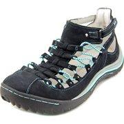 Jambu Bondi Sneakers Women  Round Toe Leather Black Sneakers
