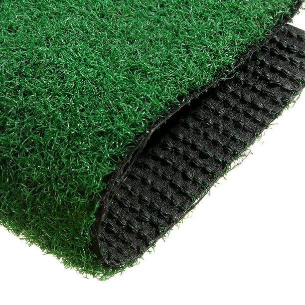 Artificial Grass Turf Lawn Economy Indoor Outdoor Synthetic Grass Mat Backyard Patio Garden Balcony Rug And Runner Rubber Backing Drainage Holes Walmart Com Walmart Com