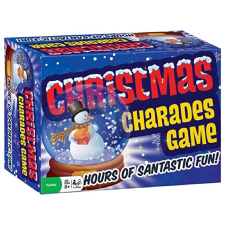 Christmas Charades Game (1 Piece), Your team shouts, naughty!, nice!, stocking stuffer!, Rudolph the red Nosed reindeer!! ...and the answer is, hot cocoa., By Cobble - Christmas Game
