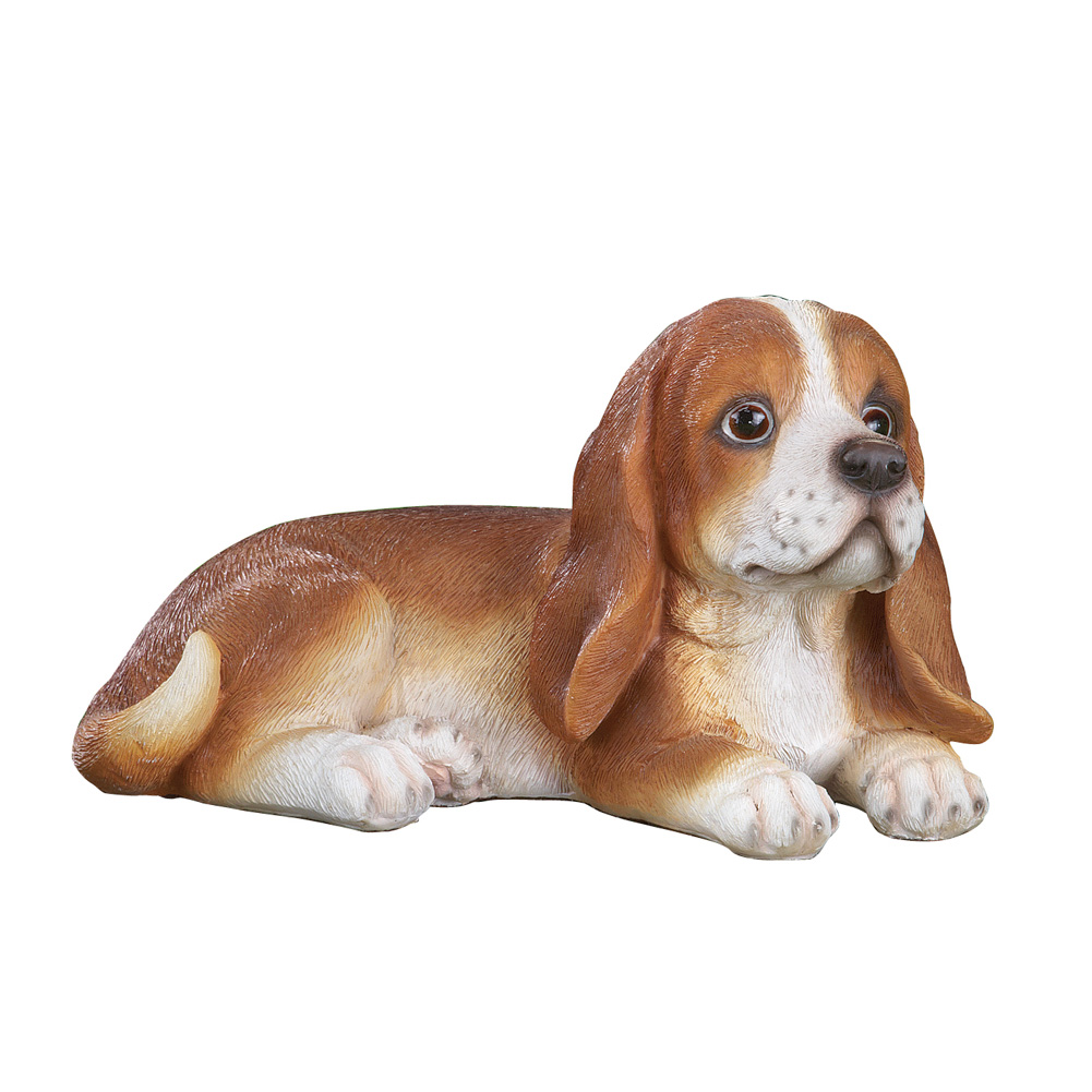 Collections Etc. Toby Beagle Cute Dog Outdoor Garden Statue