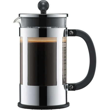 French Press Pyrex - Bodum Kenya 8 Cup French Press Chrome Coffee Maker