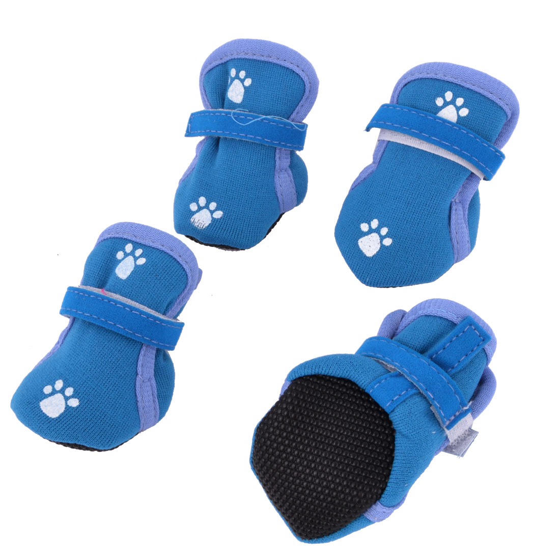 UXcell 2 Pairs Paw Pattern Hook Loop Fastener Pet Dog Cat...