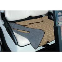 "Classic Accessories Fairway Golf Cart Seat Blanket 32"" L x 54"" W, 2-Person Golf Carts, Heritage Plaid"