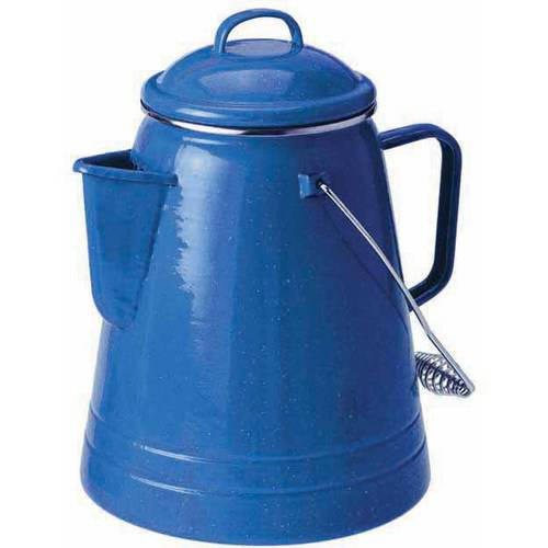 GSI Outdoors 1254 Enamelware Percolator, 8-Cup, Red