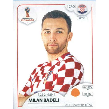 2018 Panini World Cup Stickers Russia #326 Milan Badelj Croatia Soccer Sticker