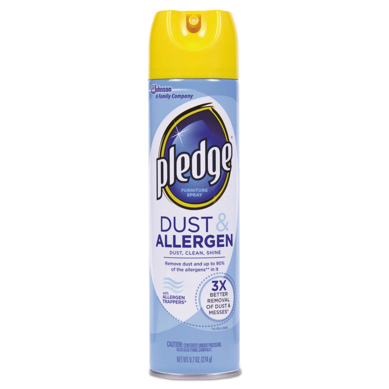 Pledge Dust & Allergen Furniture Spray, 9.7 oz