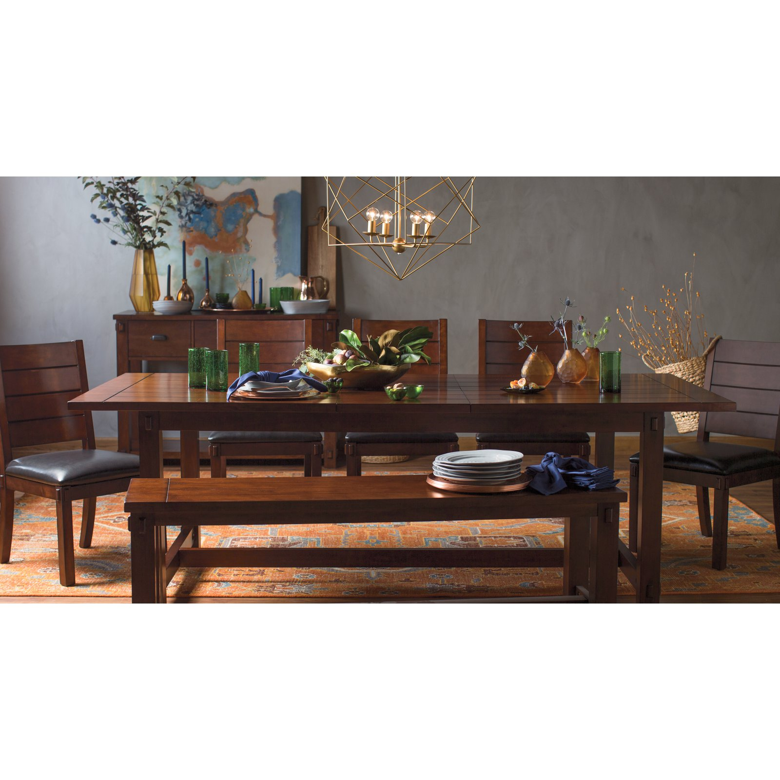 Belham Living Bartlett 6 Piece Dining Table Set