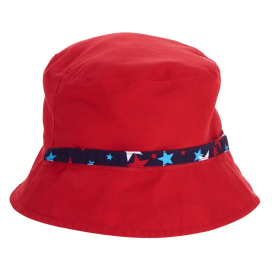14bc23ae Baby Toddler Boys' Reversible Sun Bucket Hat - Walmart.com