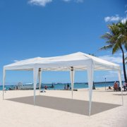 Ktaxon 10'x20' Easy Pop Up Wedding Party Tent Folding Gazebo Beach Canopy W/Carry Bag