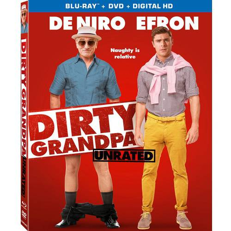 Dirty Grandpa (Blu-ray + Digital HD) (Dirty Librarian)