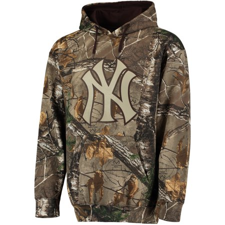release date: c3bf6 bb62a Men's Stitches Realtree Camo New York Yankees Fleece Pullover Hoodie