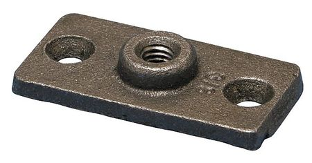 ZORO SELECT 365M0050PL Plate,3 1//2 In,Malleable Iron