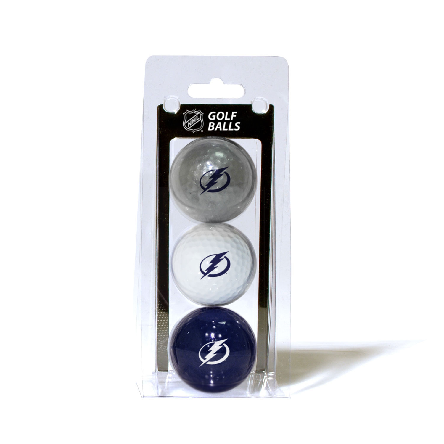 Tampa Bay Lightning Official NHL 3 Ball Set by Team Golf 15505