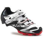 Northwave, Scorpius 2 SRS, MTB shoes, White/Black/Red, 45