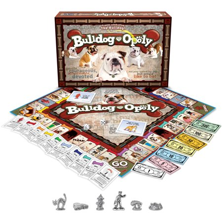 Late for the Sky Bulldog-opoly Game