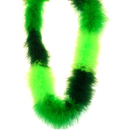 Pack of 3 Green St. Patrick's Mix Fluffy Boas 48