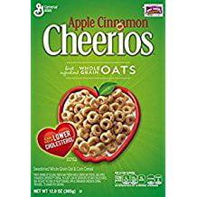 Apple Cinnamon Cheerios Gluten Free