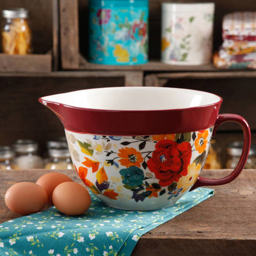 The Pioneer Woman 2.83-Quart Batter Bowl, Multiple Colors