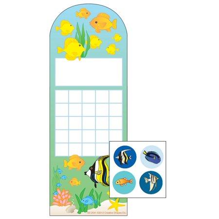 Incentive Sticker Set - Aquarium