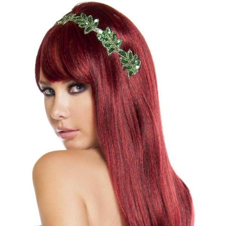 Roma RM-H4602 Womens Floral Sequin Headband O/S / Green