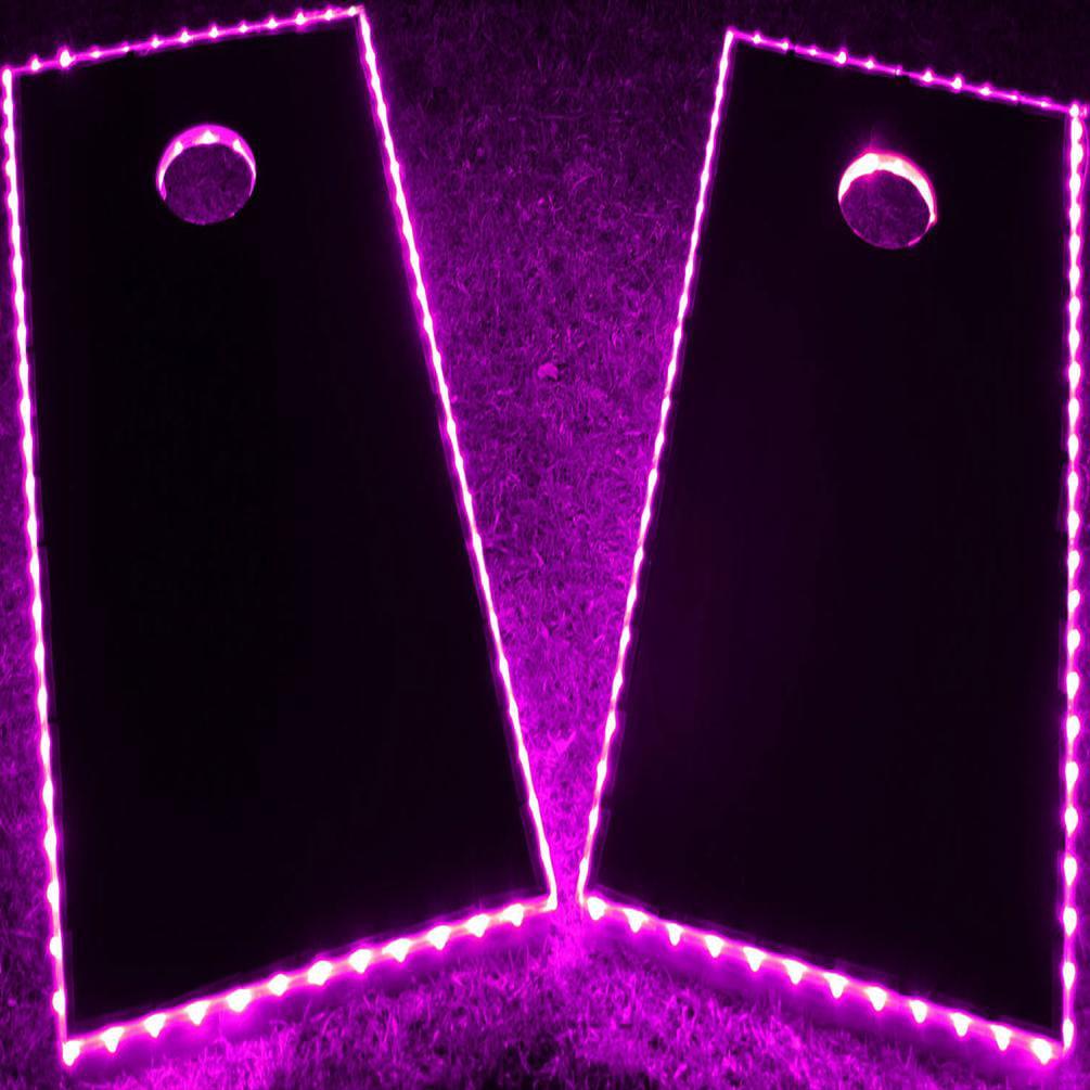 GlowCity Light Up LED Cornhole Kit (Cornhole Boards Not Included)