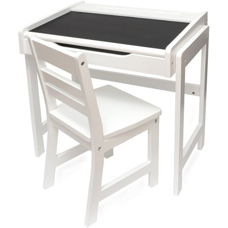 Lipper International Chalkboard Kids Desk and Chair Set
