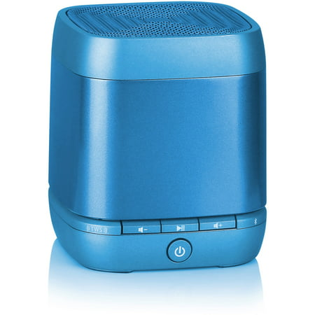 Blackweb Speck Hands-Free Mono Bluetooth Speaker, Blue