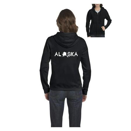 - Alaska Women's Full-Zip Hooded Sweatshirt