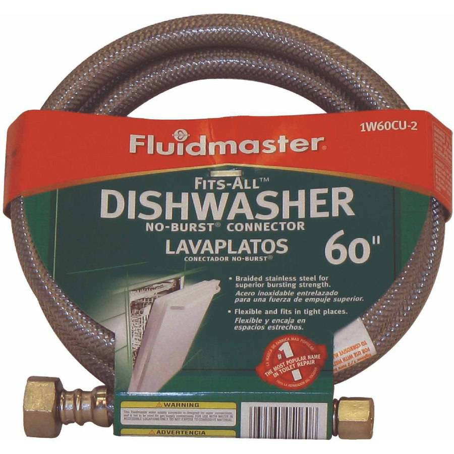 Fluidmaster 1W60CU No-Burst fits All Dishwasher Connector California Models