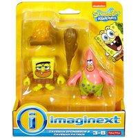 Caveman SpongeBob & Caveman Patrick Mini Figure 2-Pack Imaginext